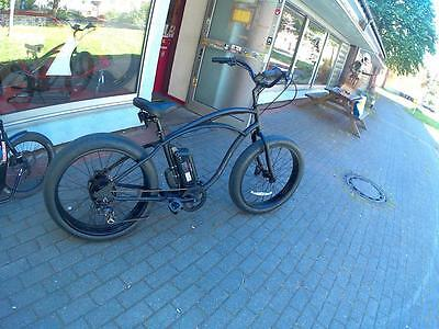 e-Bike Pedelec Cruiser Herren Beachcruiser Electra Fat Tire LUX 7D ElectricRide