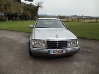 1995 MERCEDES BENZ E320 DIESEL AUTO COUPE WITH PRIVATE PLATE