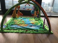 Fisher Price Rainforest Melodies and Lught Deluxe Baby Gym