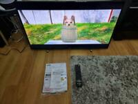 """JVC 40"""" Led Full HD TV, This is not a smart TV. Built in Freeview. Model no - LT-40C550."""