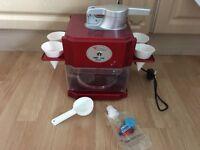 Ice cone maker machine