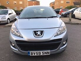 2009 Peugeot 207 1.4 5 door - Light Blue