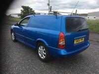 Vauxhall Astra van years mot