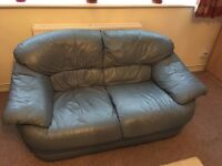 DFS leather sofa used