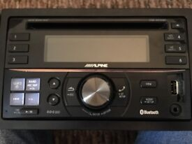 Alpine CDE-W235BT Bluetooth & USB stereo