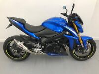Stunning 65 plate GSXS 1000 GSX-S1000 GSX S1000. Low mileage, ££££ of extras.
