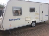 Bailey ranger 470/4 lightweight 2008 fully equipped