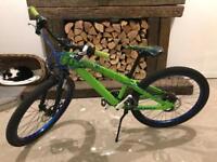 Scott Voltage JR24 Junior Green 24 inch Kids Mountain Bike