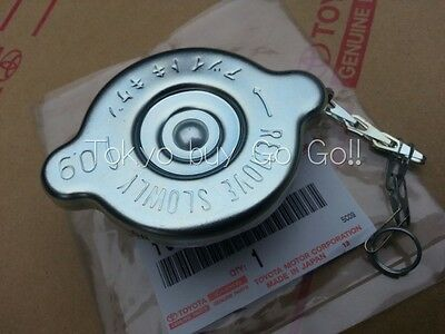 Toyota Land Cruiser Radiator Cap Sub-Assy With Chain Genuine OEM Parts 1960-1977