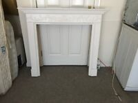 White Mantlepiece available for Sale