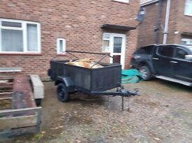 For sale car trailer