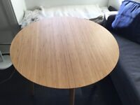 IKEA Finede Bamboo Round Table