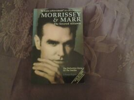Softback book - Morrissey and Marr - The Severed Alliance.