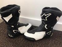 Alpinestars mororcycle Boots size 40 / 6 Ladies