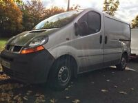 2002 RENAULT TRAFIC. BRILLIANT DRIVE. RECENTLY SERVICED. E/W. A/C. NAV SYSTEM. CD PLAYER. 6 SPEED.