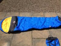 Blacks King Size Mummy Shape Sleeping Bag - Good Thickness and Very Good Condition