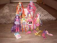 My little pony Equestria girls bundle