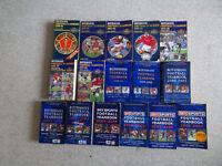 31 football annuals 1970s - 2000s