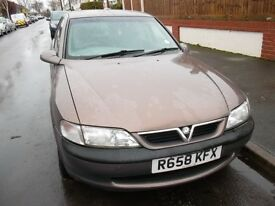 Vauxhall Vectra 1.8 LS, 1997 (R) 5 door Hatchback, Manual Petrol, 103,000 miles, 14 service stamps