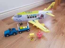 Spongebob Squarepants Plane Set