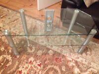 TV glass corner stand (Perfect)