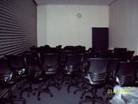 Ergonomic Swivel Office Chairs&Others, Strong, Sturdy Frames Good Cond, Arms Need Attention/Re-Furb