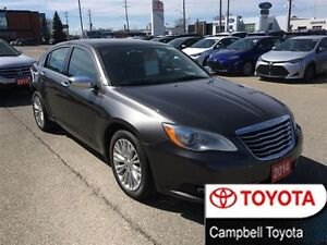 2014 Chrysler 200 LIMITED--MOON ROOF--HEATED LEATHER--1 OWNER