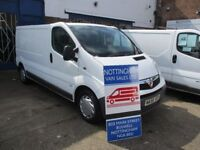 Vauxhall Vivaro LWB LOW MILEAGE Only 80K 58 Reg.
