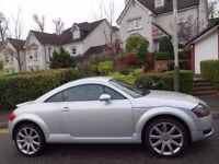 HIGHLY SOUGHT AFTER (2006) AUDI TT TURBO EDITION 1.8T ONLY 60K MILES/FSH/9 STAMPS/NAPPA LEATHER/BOSE