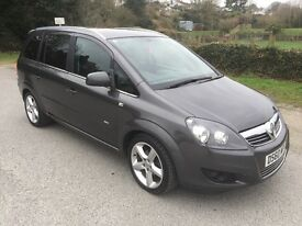 Vauxhall Zafira 1.8 petrol VVT 16v SRI - 7 seater