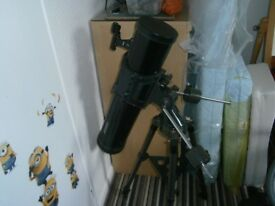 Jessops telescope for sale in very good condition. with tripod and additional ;enses