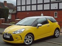 Lovely Citroen DS3 1.6 HDi DStyle 3dr, In Show Room Condition,Full Service History, £20 TAX,Like New
