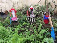 Women Gardeners. The Three Tools Gardening!