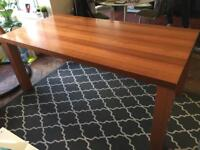 Bo Concept Danish Large Dining Table 6ft x3ft Oak/Cherrywood REDUCED