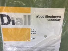Laminate floor fibreboard underlay 10 pieces