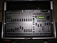 LC2412 DMX Stage lighting desk Behringer for moving heads par cans live gigs