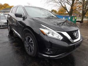 2016 Nissan Murano PLATINUM AWD LEATHER NAV PANORAMIC SUNROOF