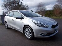 2013 63 KIA CEED 1 ECODYNAMICS CRDI 1.6 DIESEL 5 DOOR ESTATE