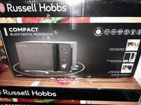 Russell Hobbs Compact Black digital microwave RHM2076B