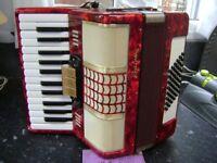 galotta light weight piano accordion