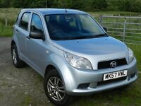 DAIHATSU TERIOS 1.5 S 5-DOOR, **12 MONTHS MOT** PETROL, MANUAL. 4x4. SERVICE HISTORY. GREAT PRICE.