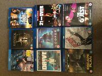 Blu Ray dvds