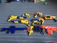Nerf and nerf style guns