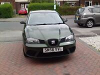 2006 SEAT IBIZA 1.2 REFERENCE .. 3dr 4 MONTHS MOT SERVICE HISTORY IN EXCELLENT CONDITION £650 ONO
