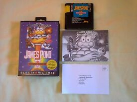 James Pond II (2) Codename: Robocod Sega Mega Drive Complete Nice Condition