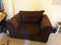 Cosy armchair good condition