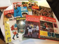 Boys' Assorted Vintage Annuals circa 1960-70