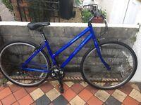 Apollo cx10 ladies hybrid bike 21 gears 18 inch aluminium frame 28 alloy wheels v brakes