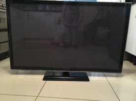 "Panasonic 50"" 3d tv with Blu-ray player"