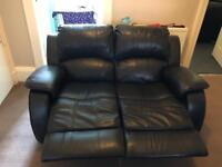 3 Piece Leather Reclining Suite